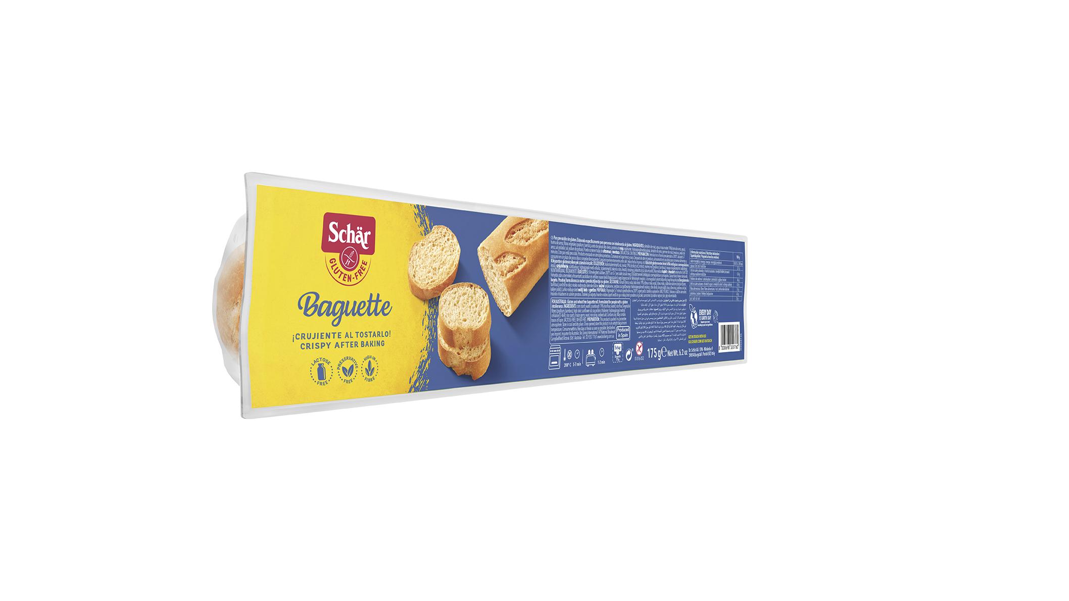 Bezglutensko pecivo - Baguette