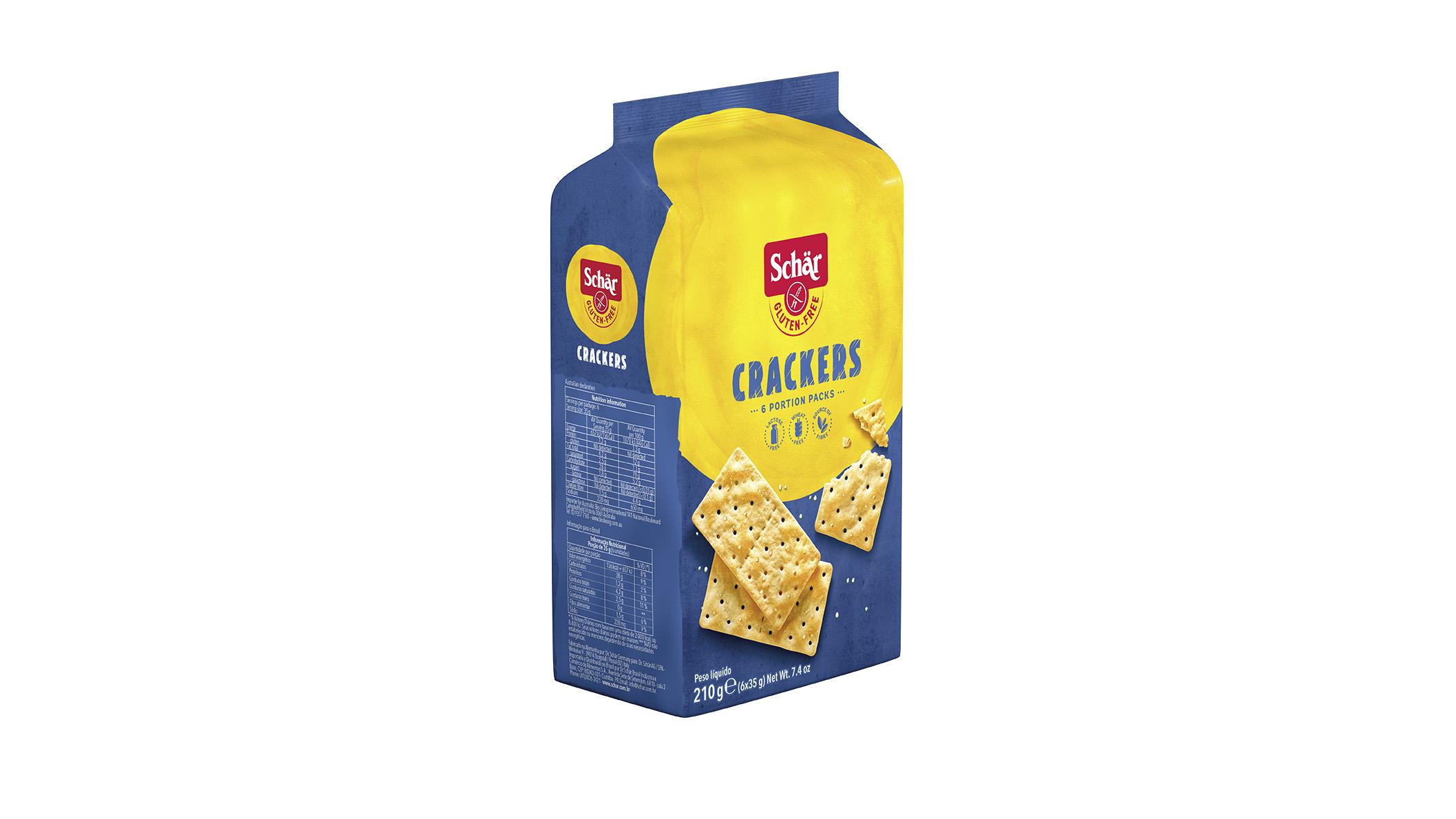 Bezglutenski krekeri - Crackers