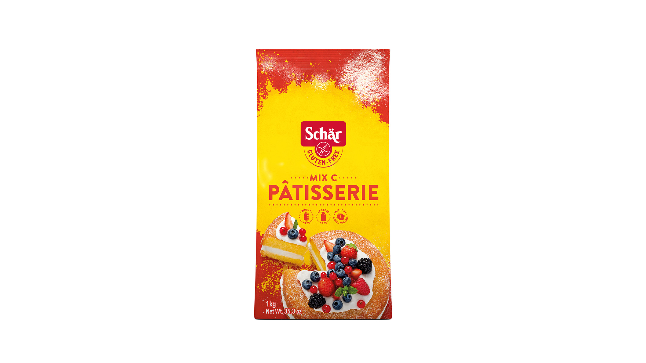 Bezglutensko brašno - Mix C - Mix Pâtisserie