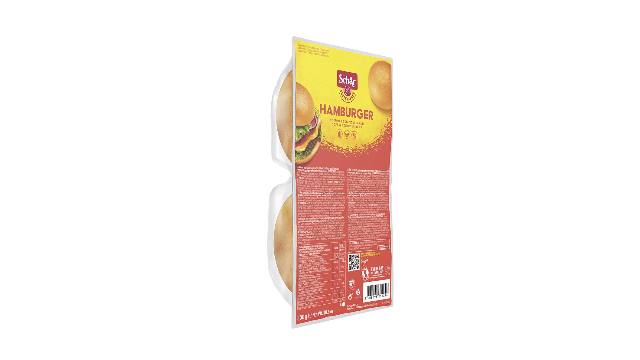 Pecivo za hamburger - Hamburger