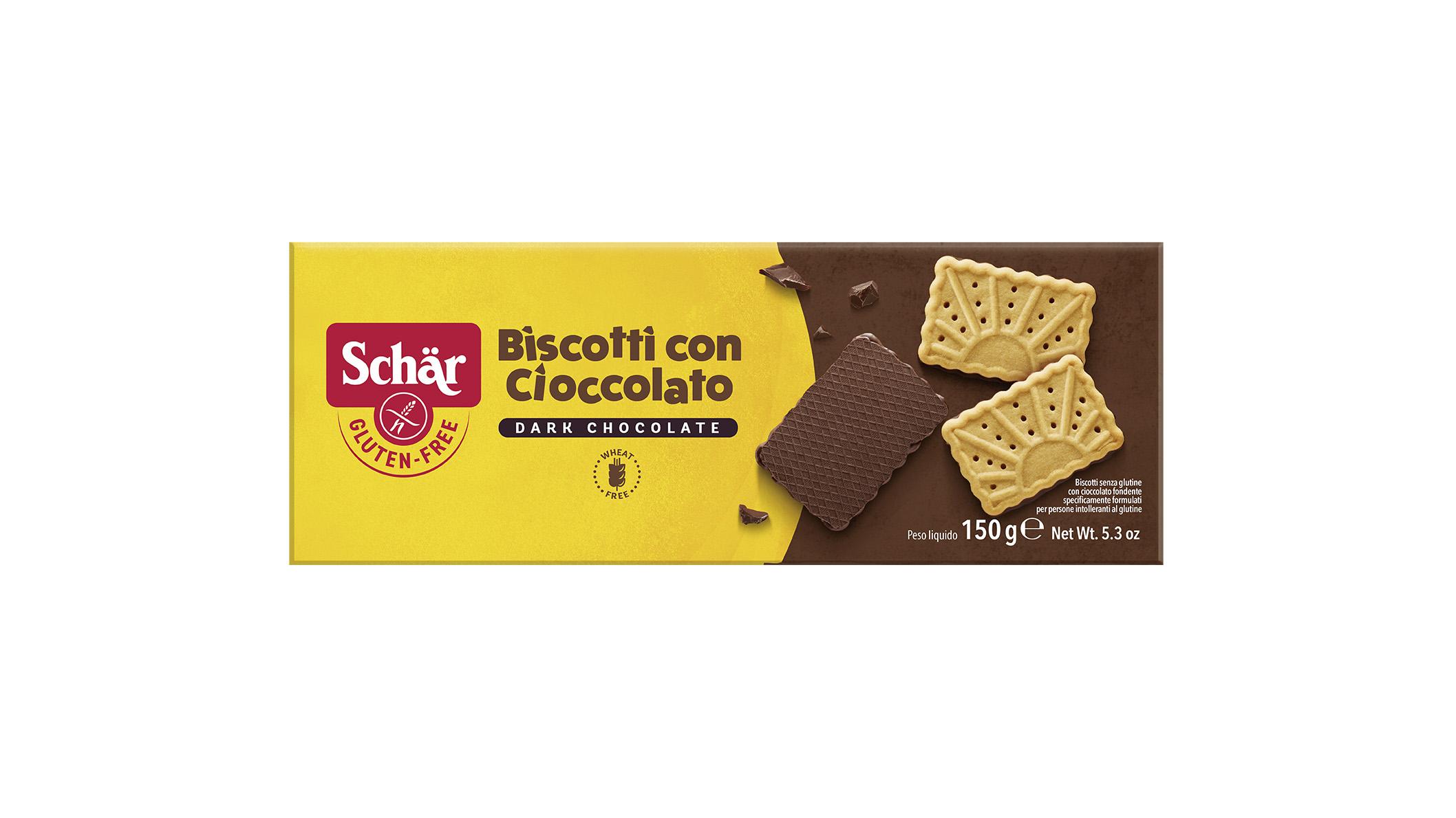 Keksi s čokoladom - Biscotti con Cioccolato