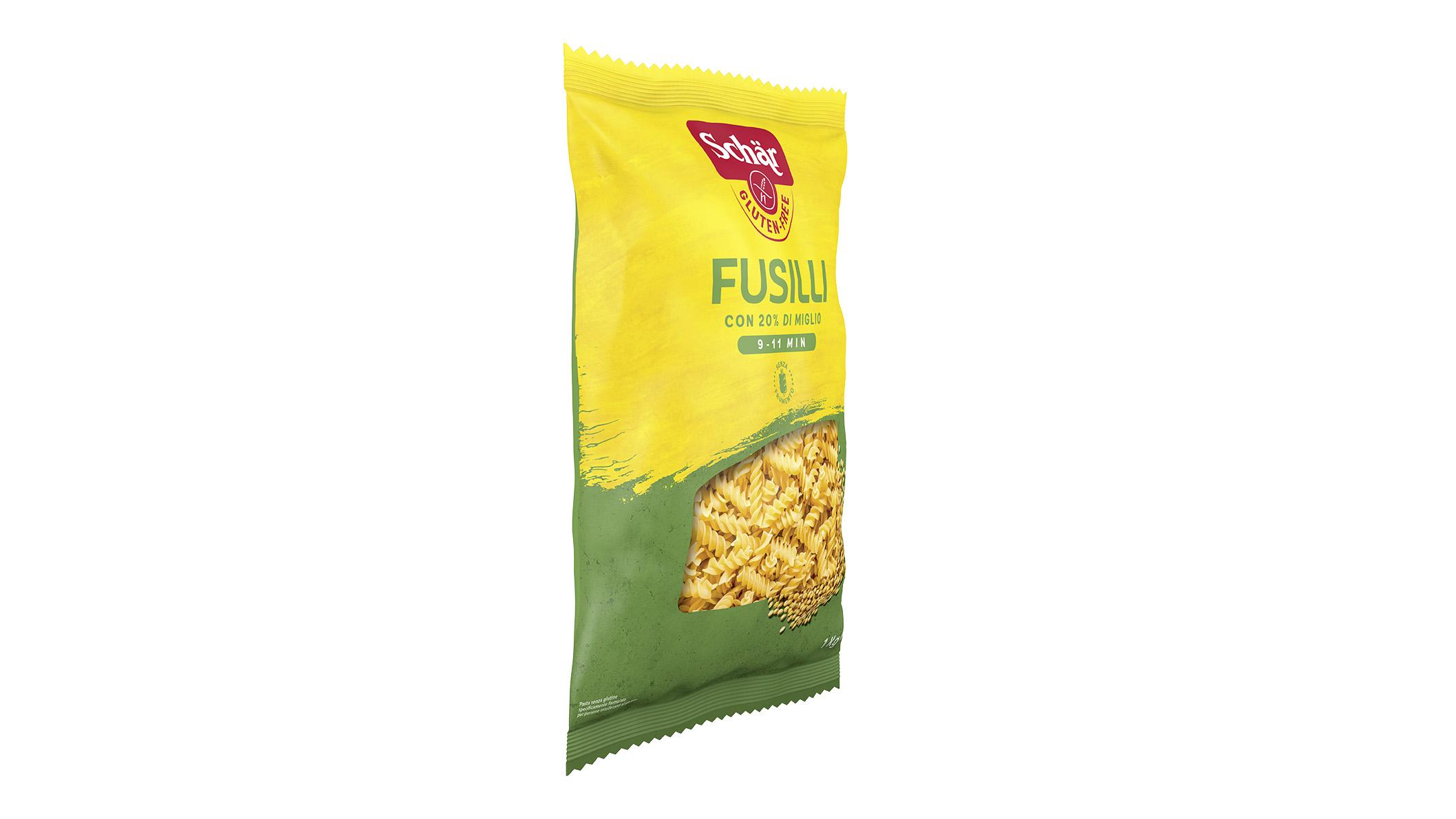 Bezglutenska tjestenina -  Fusilli 1kg