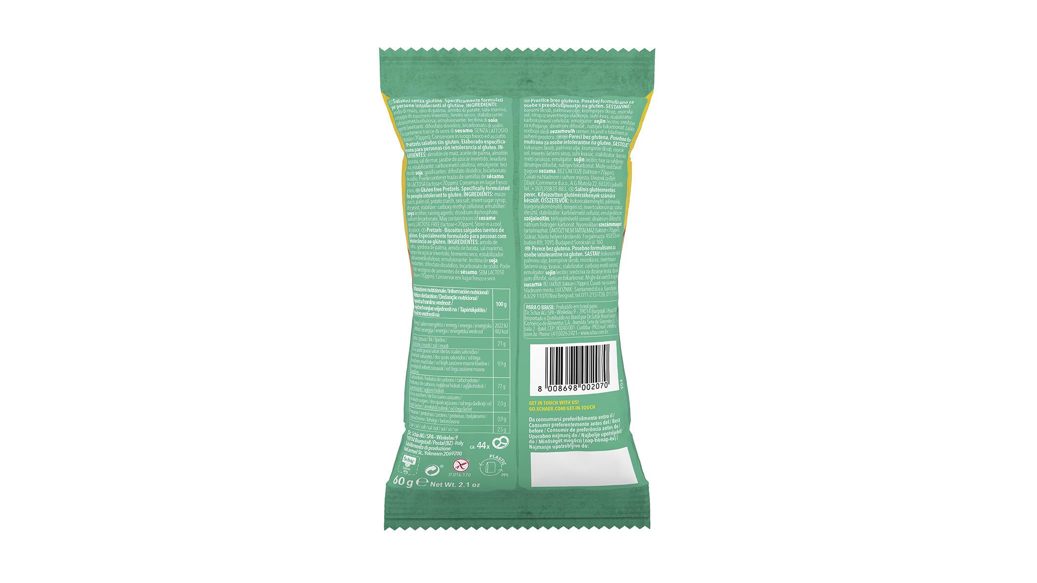 Bezglutenske grickalice - Salinis