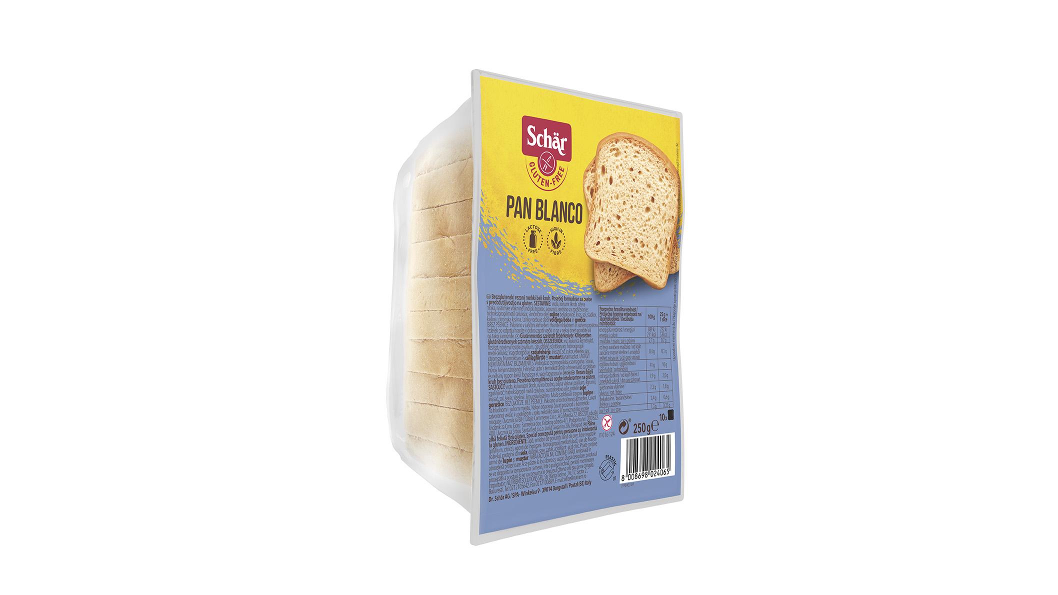 Bezglutenski bijeli kruh - Pan Blanco