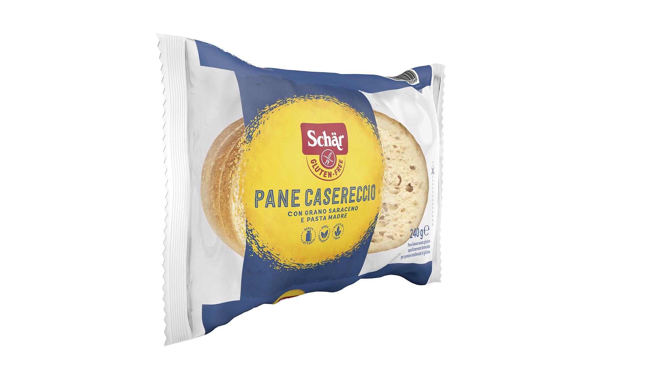 Bezglutenski kruh - Pane Casereccio
