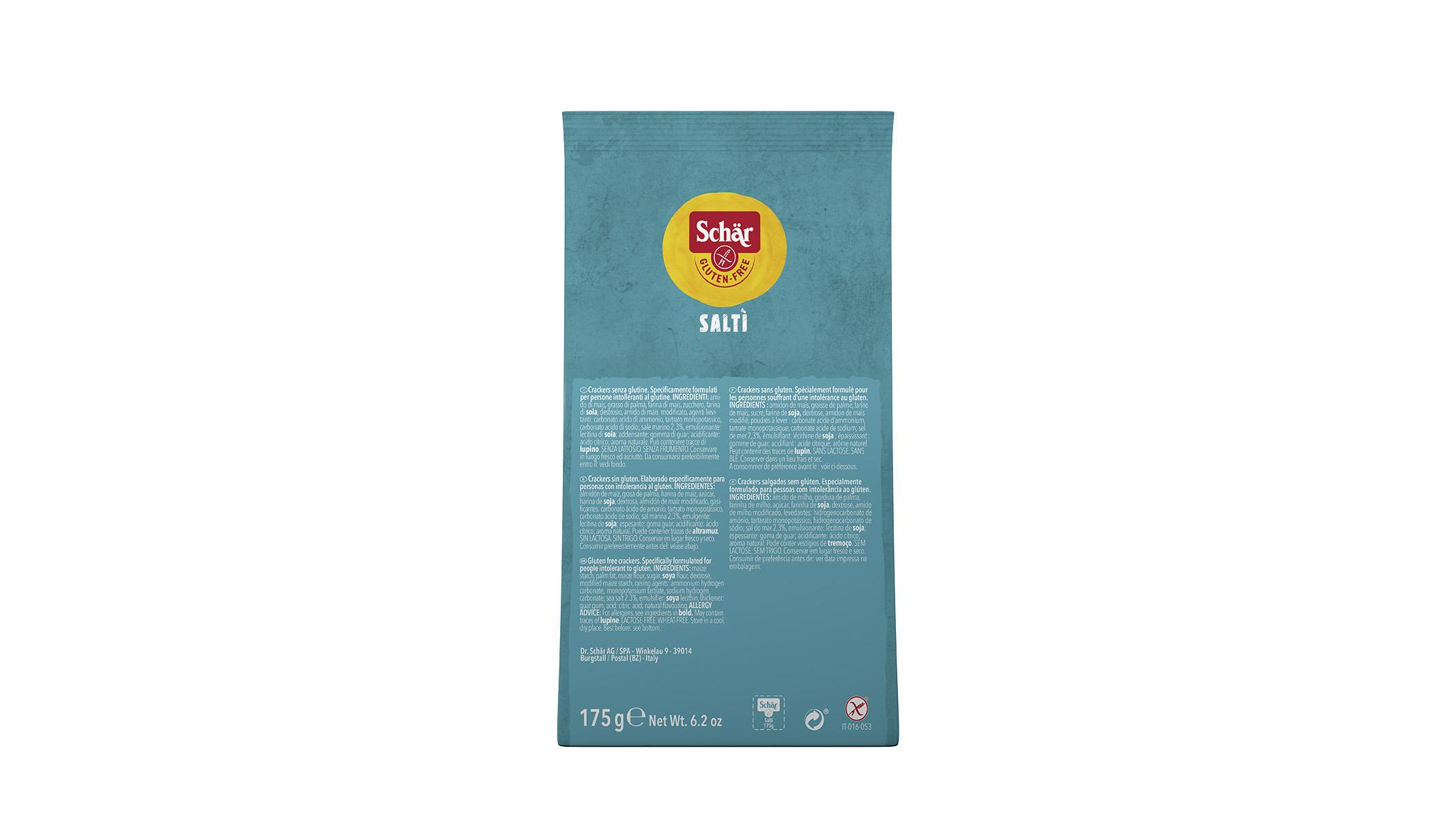 Bezglutenski slani krekeri - Saltì