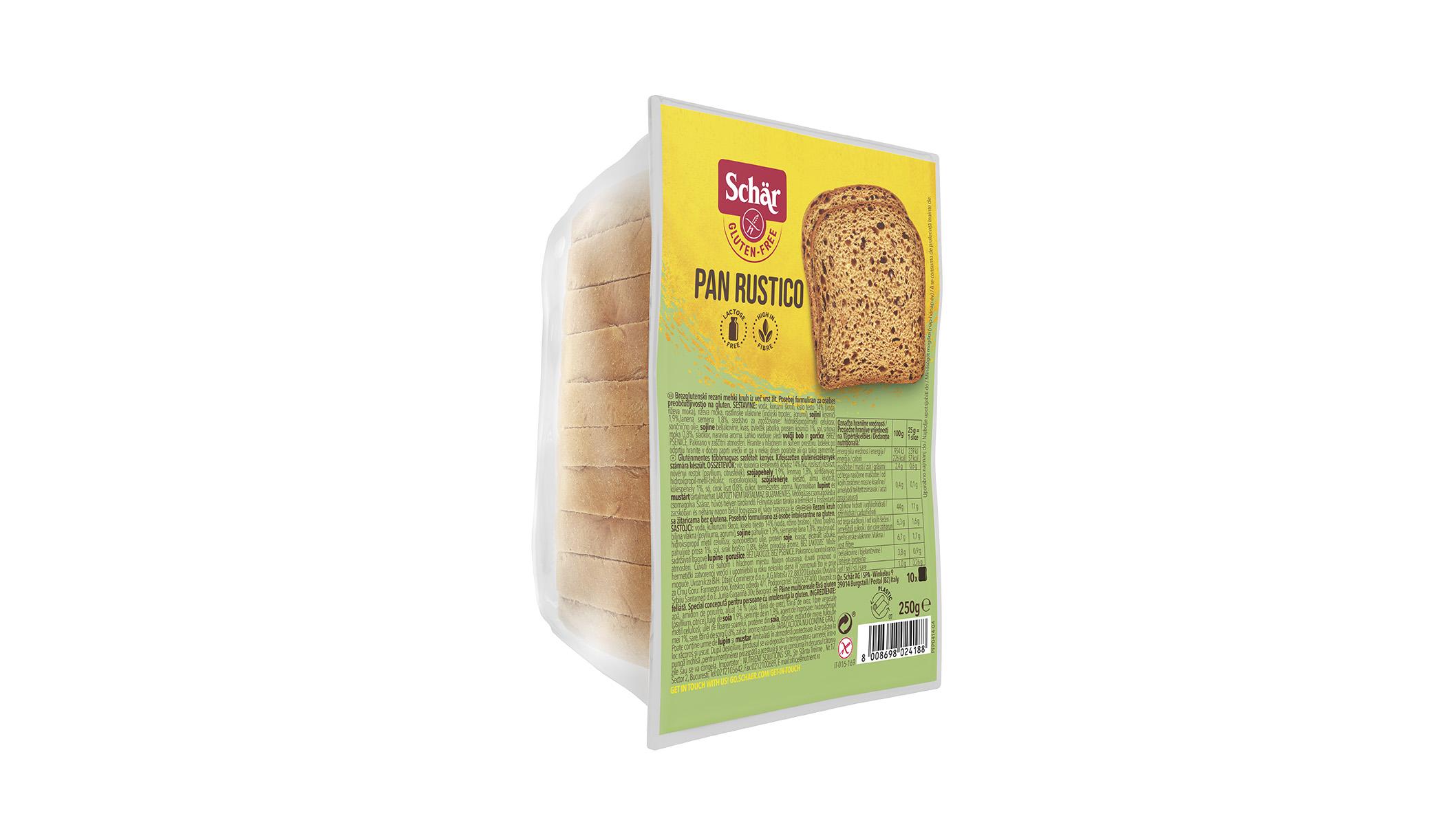 Bezglutenski tamni kruh - Pan Rustico