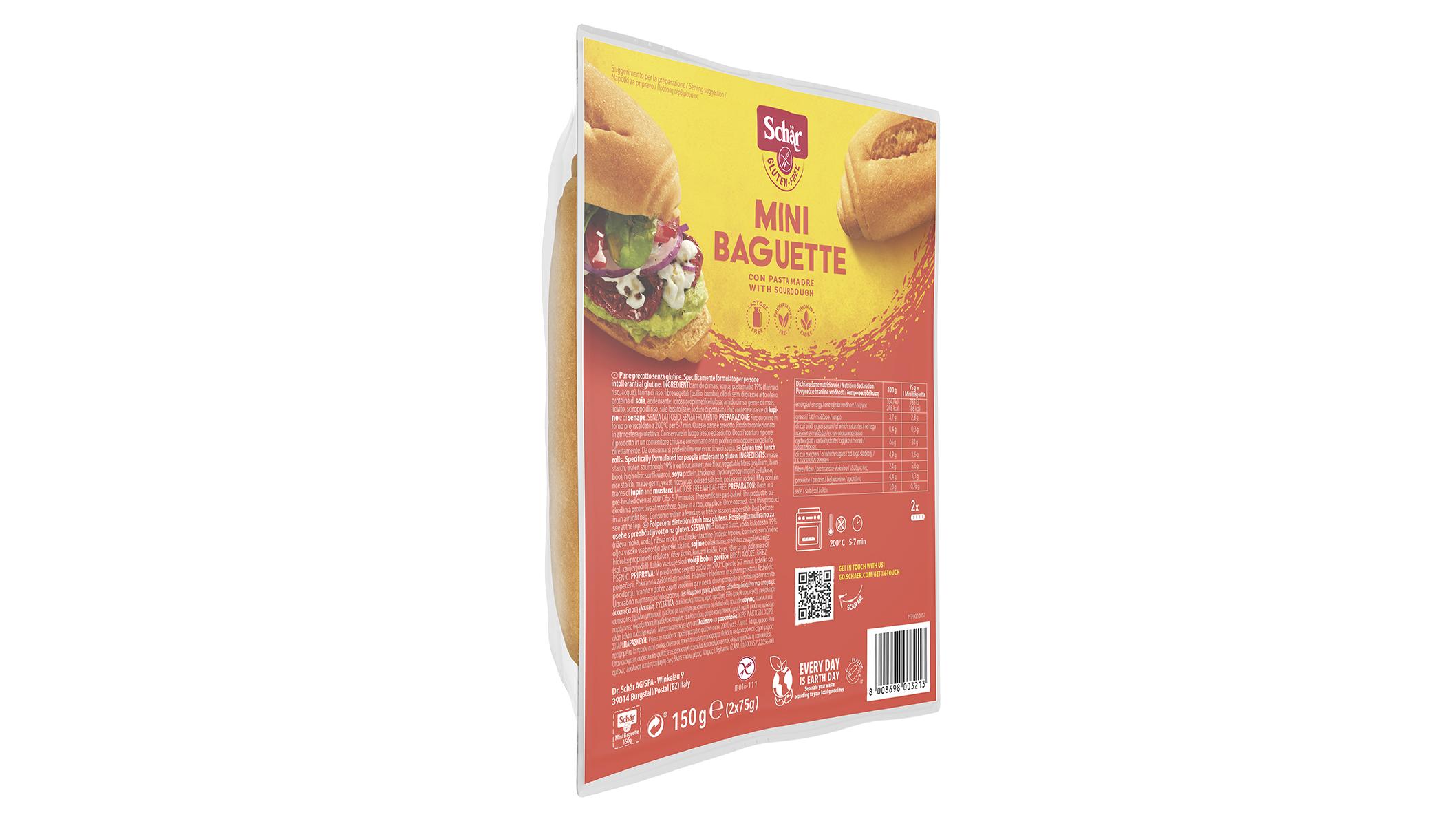 Mini Baget - Mini Baguette