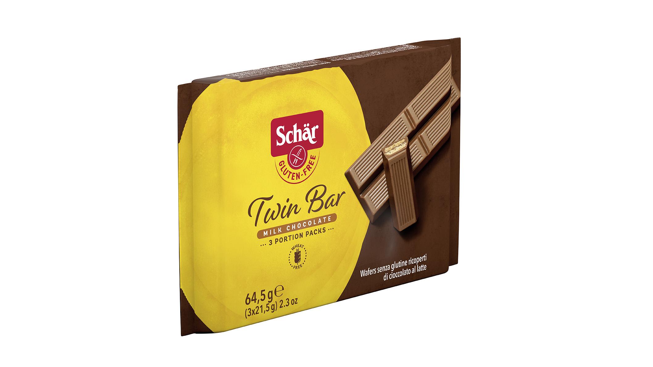 Bezglutenska čokoladica - Twin Bar