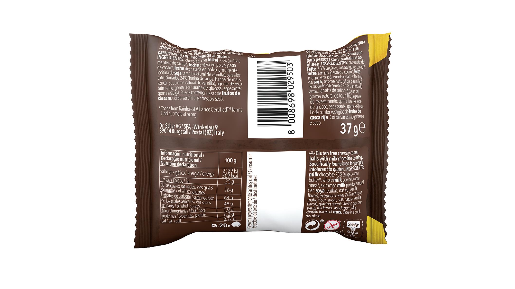 Bezglutenske čokoladne poslastice - Delishios