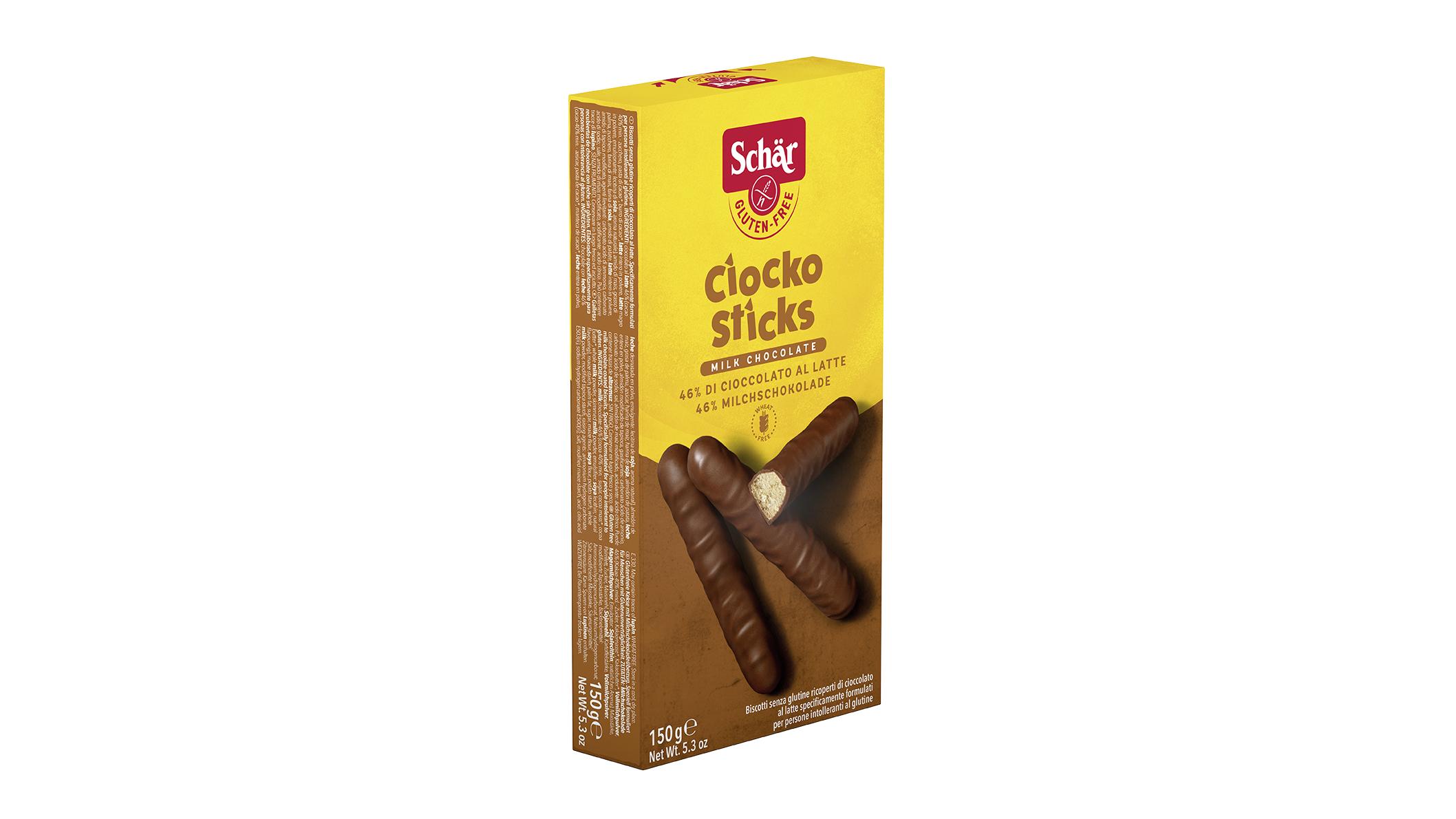Bezglutenski čokoladni štapići - Ciocko Sticks